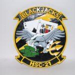 HSC-21 Blackjacks Plaque