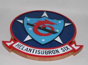 HSC-6 Indians Plaque
