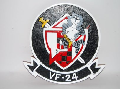 VF-24 Fighting Renegades Plaque