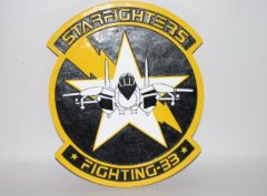 VF-33 Starfighters Plaque