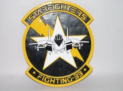 VF-33 Starfighters Plaque