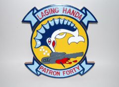 VP-40 Fighting Marlins Plaque