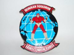 VQ-3 Ironman Plaque