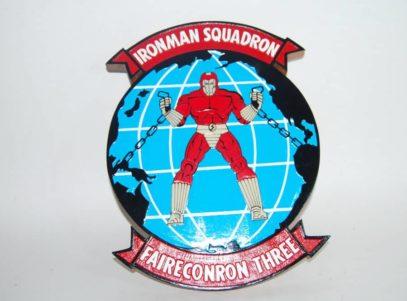 VQ-3 Ironman Plaque
