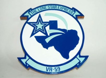 VR-59 Lone Star Express Plaque