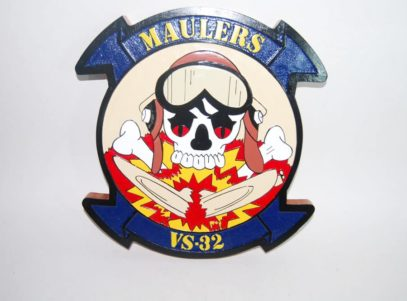 VS-32 Maulers Plaque
