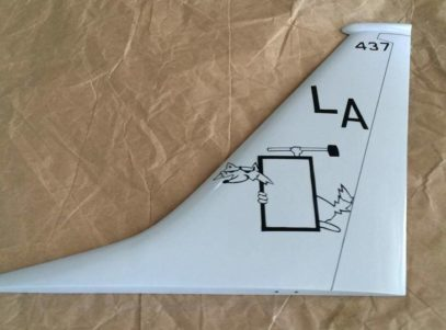 VP-5 Madfoxes P-8a Tail