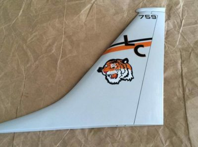 VP-8 Tigers P-8a Tail