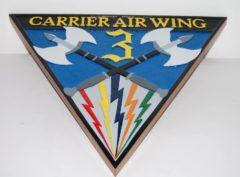 CVW-3 Plaque