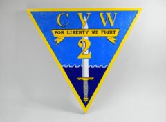 Carrier Air Wing Two CVW-2 Plaque