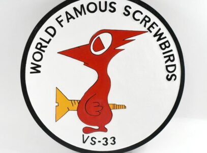 VS-33 Screwbirds Plaque