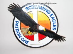VP-1 Screaming Eagles Plaque