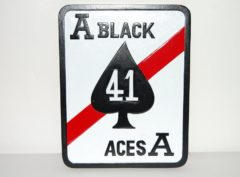 VF-41 Black Aces Plaque