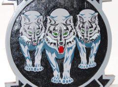 HMH-466 Wolfpack Plaque