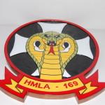 HMLA-169 Vipers Plaqu
