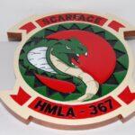 HMLA-367 Scarface Plaque
