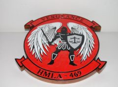 HMLA-469 Vengeance Plaque
