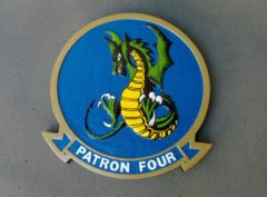 VP-4 Skinny Dragons Plaque