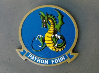 VP-4 Skinny Dragons Plaque