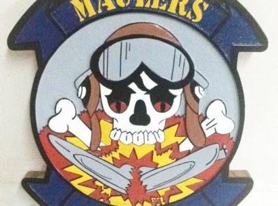 VS-32 Maulers Plaque