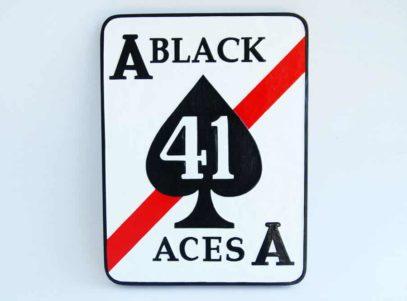 VF-41 Black Aces Plaque