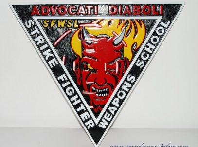 Strike Fighters Weapons School Plaque