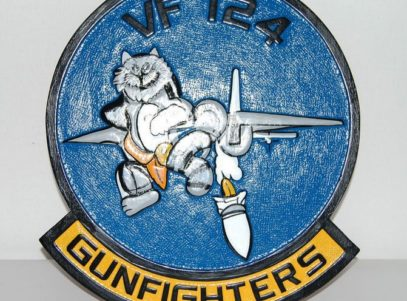 VF-124 Gunfighters Plaque