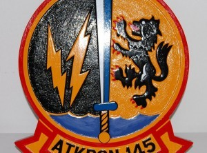 VA-145 Swordsman Plaque