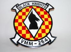 VMM-264 Black Knights Plaque