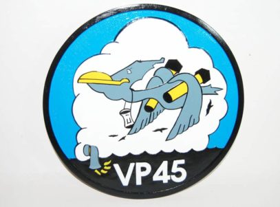 VP-45 Pelicans Plaque