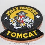 VF-84 Jolly Rogers Tomcat Plaque