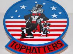 VF-14 TophattersTomcat Plaque