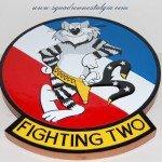 VF-2 Tomcat plaque