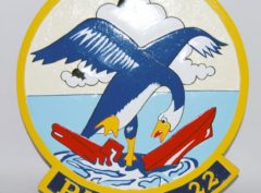 VP-22 Blue Geese Plaque