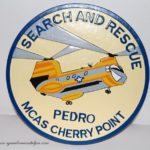 CH-46 Pedro Plaque