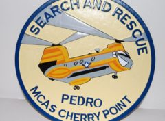 CH-46 Search and Rescue Pedro Plaque