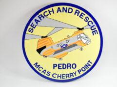 CH-46 Search and Rescue Pedro Plaque