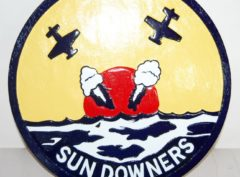 VF-111 Sundowners Plaque