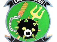 HSC-8 Eightballers Plaque