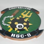HSC-8 Eight Ballers Plaque