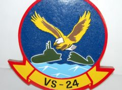 VS-24 Scouts Plaque