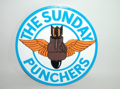 VA-75 Sunday Punchers Plaque