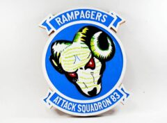 VA-83 Rampagers Plaque