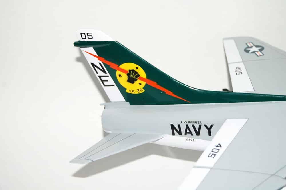 VA-25 Fist of the Fleet A-7E (1979) Model