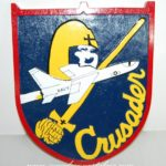F-8 Crusader Plaque