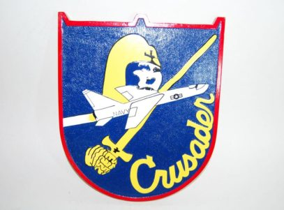 F-8 Crusader Plaque