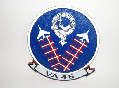 VA-46 Clansmen Plaque