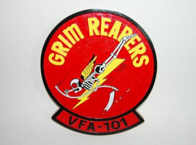 VFA-101 Grim Reapers Plaque
