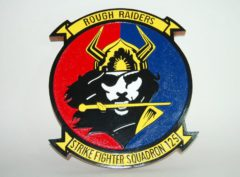 VFA-125 Rough Raiders Plaque