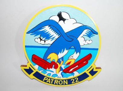 VP-22 Blue Geese Plaque